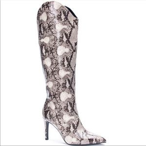 💕Chinese Laundry Z Riser Pull Up Stiletto Boot